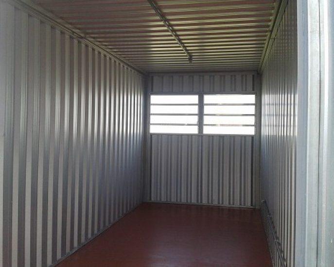 Almoxarifado de 6 mts Porta dupla