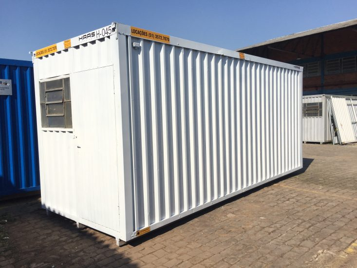 Container branco H6 6WC